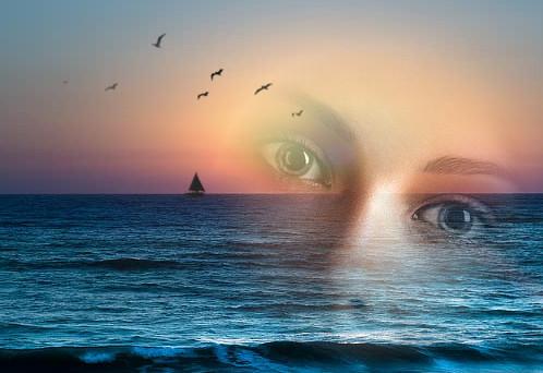 la curva dei tuoi occhi intorno al cuore poesia di paul eluard sugli occhi di una donna